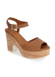 Fendi Cork Platform Sandal (Women)