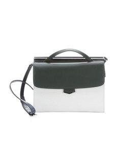Fendi forest leather 'Demi Jour' split shoulder bag