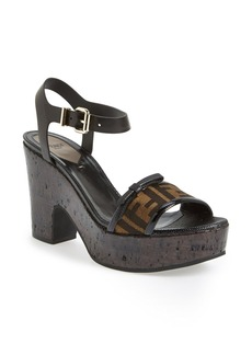 Fendi 'Isabel' Platform Sandal (Women)