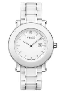 Fendi Large Ceramic Round Case Watch, 38mm (Regular Retail Price: $1,095.00)
