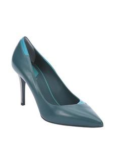 Fendi oceano leather pointed toe stiletto pumps