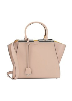 Fendi pale pink and sunflower leather mini '3Jours' convertible tote