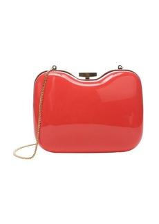 Fendi peach and tortoise shell acrylic 'Giano' shoulder bag