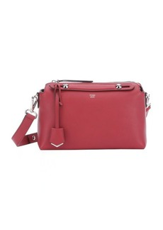 Fendi red leather 'By The Way' convertible shoulder bag