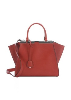 Fendi red leather mini '3Jours' convertible tote
