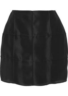 Fendi Silk-gazar mini skirt