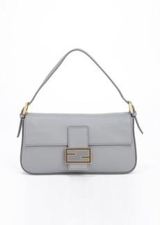 Fendi smoke mini baguette handbag