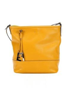 Fendi sunflower leather shoulder bag
