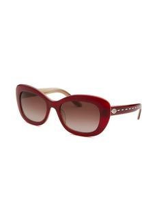 Fendi Women's Cat Eye Burgundy Sunglasses