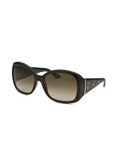Fendi Women's Oversized Green Sunglasses