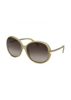 Fendi Women's Round Black Sunglasses