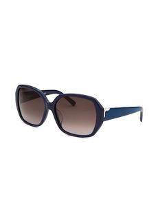 Fendi Women's Square Navy Blue Sunglasses