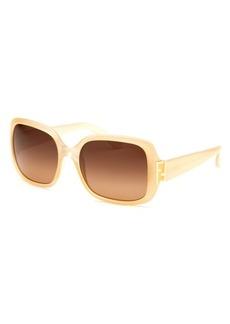 Fendi Women's Square Vanilla Sunglasses