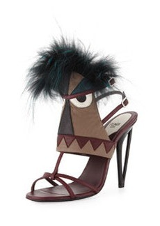 Leather Monster Bootie Sandal   Leather Monster Bootie Sandal