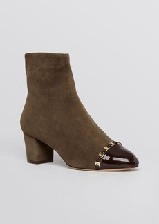 Salvatore Ferragamo Cap Toe Booties - Nao
