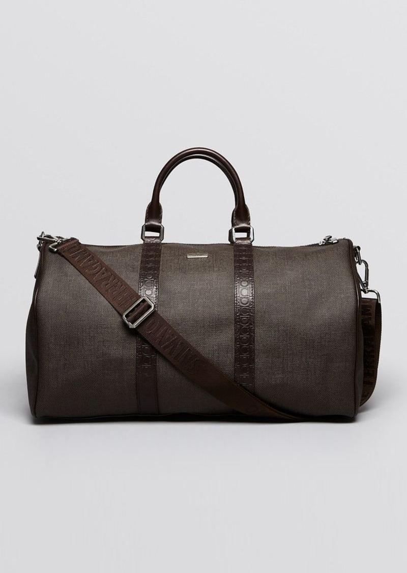 ferragamo salvatore ferragamo coated canvas duffel bags shop it to me. Black Bedroom Furniture Sets. Home Design Ideas