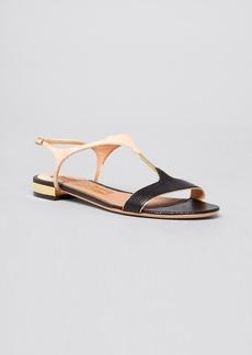 Salvatore Ferragamo Flat Sandals - Mix Colorblock