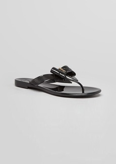 Salvatore Ferragamo Flip Flops - Bali Quilted Thong
