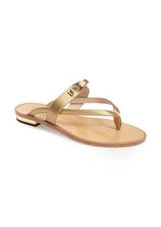 Salvatore Ferragamo 'Mare' Bow Flat Sandal (Women)