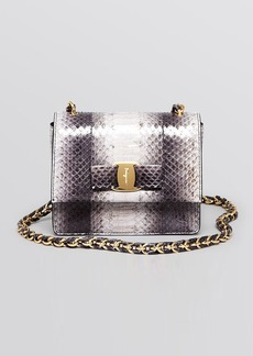 Salvatore Ferragamo Mini Bag - Ginny Python Crossbody