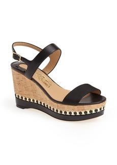 Salvatore Ferragamo 'Mollie' Wedge Sandal (Women)