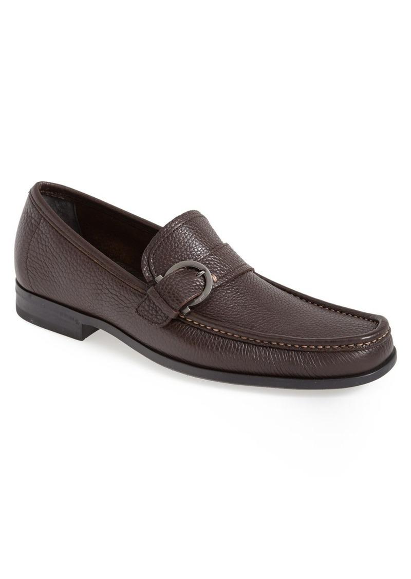 ferragamo salvatore ferragamo 39 navarro 39 bit loafer men shoes shop it to me. Black Bedroom Furniture Sets. Home Design Ideas