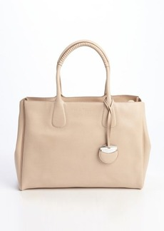 Salvatore Ferragamo new bisque leather 'Nolita' top handle tote