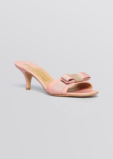 Salvatore Ferragamo Open Toe Dress Sandals - Glory