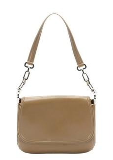 Salvatore Ferragamo orzo leather small shoulder bag