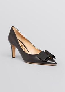 Salvatore Ferragamo Pointed Toe Pumps - Mimi High Heel