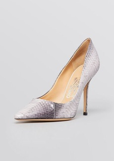 Salvatore Ferragamo Pointed Toe Pumps - Susi High Heel