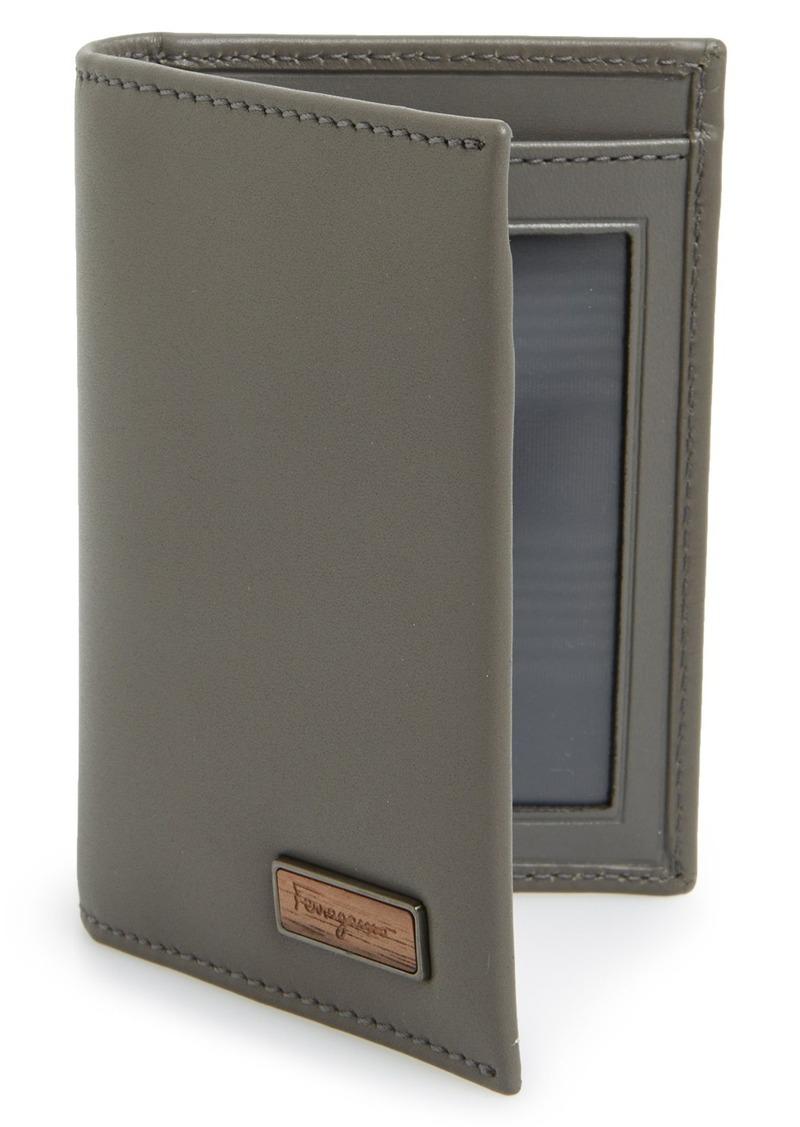 ferragamo salvatore ferragamo 39 renaissance 39 bifold leather wallet sizes all sizes shop it to. Black Bedroom Furniture Sets. Home Design Ideas