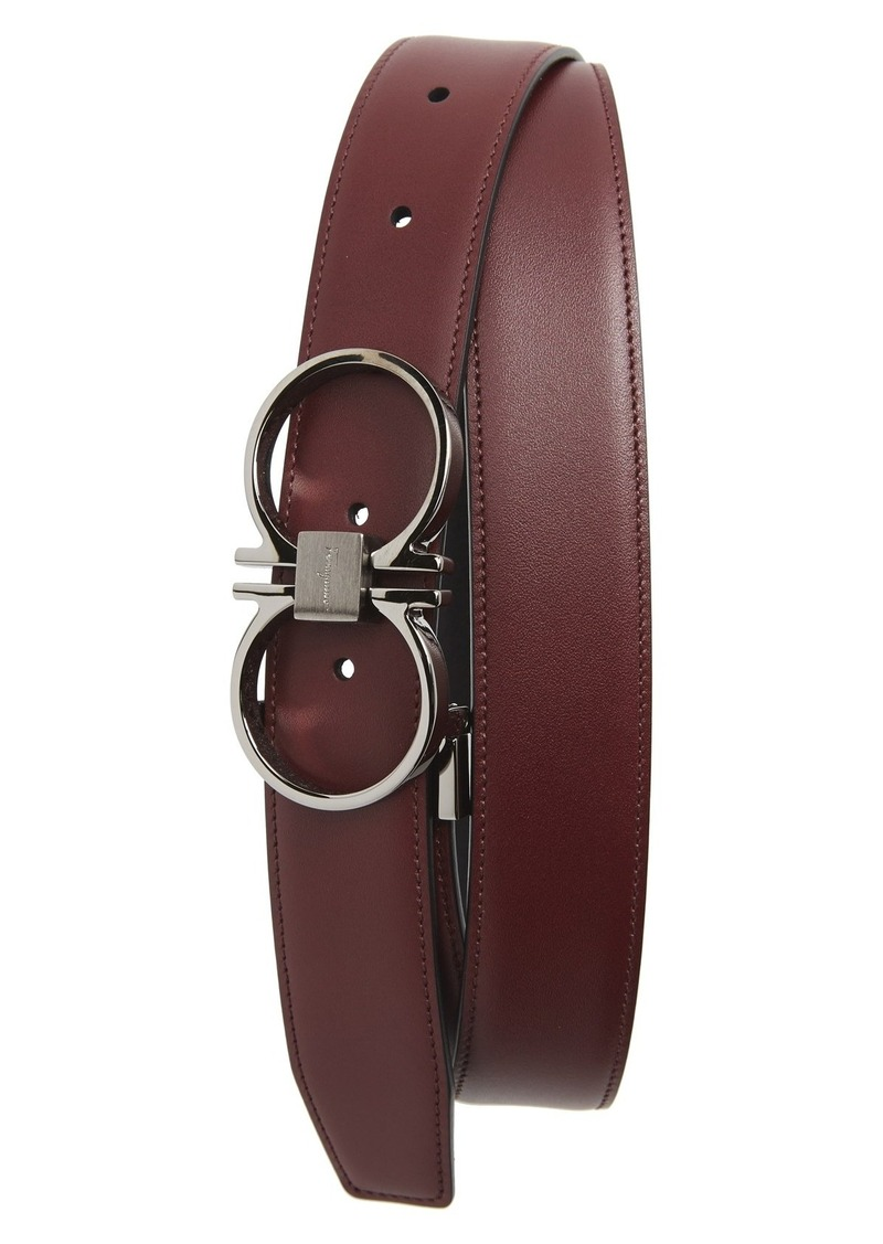 ferragamo salvatore ferragamo reversible leather belt sizes 36 shop it to me all sales in. Black Bedroom Furniture Sets. Home Design Ideas