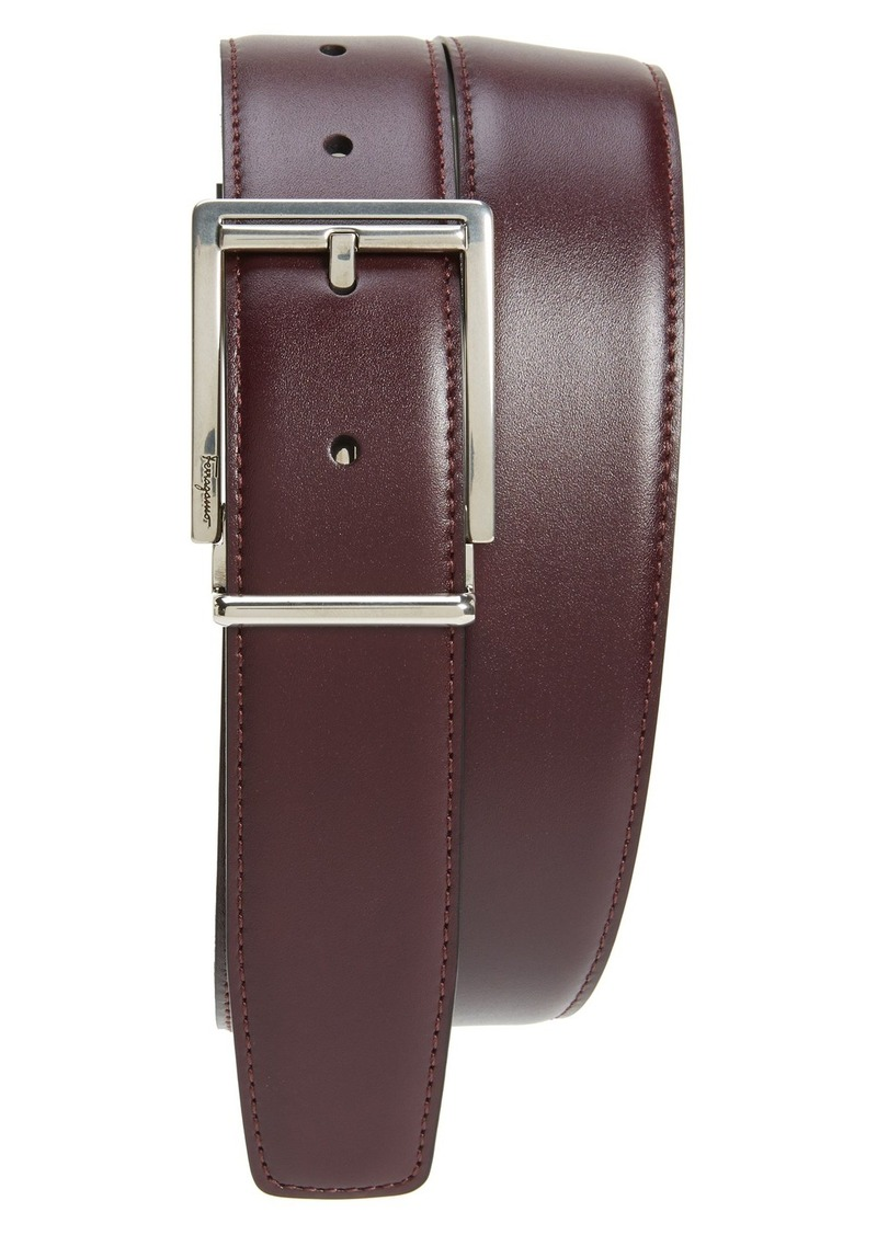 ferragamo salvatore ferragamo reversible leather belt belts shop it to me. Black Bedroom Furniture Sets. Home Design Ideas