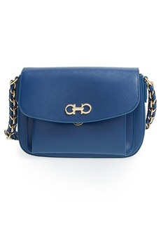 Salvatore Ferragamo 'Sandrine' Saffiano Leather Shoulder Bag