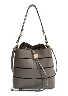 Salvatore Ferragamo 'Sansy' Cutout Leather Bucket Bag