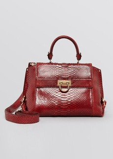 Salvatore Ferragamo Satchel - Sofia Medium Python