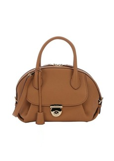 Salvatore Ferragamo sienne calfskin 'Fiamma' convertible top handle bag