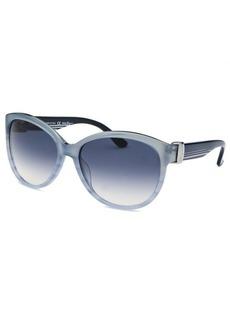 Salvatore Ferragamo Women's Cat Eye Light Blue Sunglasses