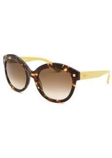 Salvatore Ferragamo Women's Cat Eye Tortoise Sunglasses