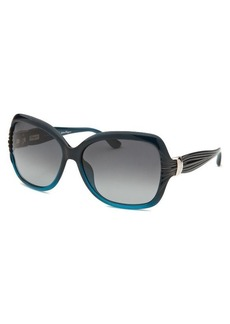 Salvatore Ferragamo Women's Pearl Blue Butterfly Sunglasses