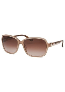 Salvatore Ferragamo Women's Rectangle Nude Sunglasses