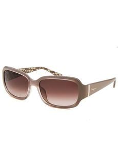 Salvatore Ferragamo Women's Rectangle Thistle Sunglasses