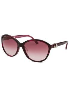 Salvatore Ferragamo Women's Round Purple Sunglasses