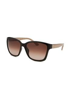 Salvatore Ferragamo Women's Square Black Sunglasses