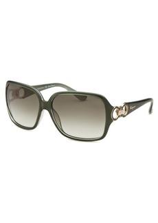Salvatore Ferragamo Women's Square Green Sunglasses