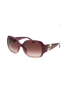 Salvatore Ferragamo Women's Square Purple Sunglasses