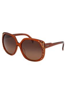 Emilio Pucci Women's Square Caramel Sunglasses