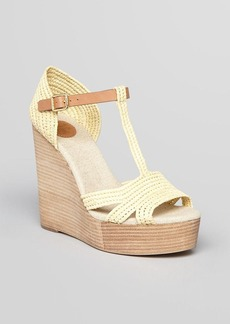 Tory Burch Platform Wedge Sandals - Carina