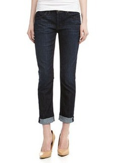 Hudson Bacara Cropped Straight Cuff Jeans, Genoa